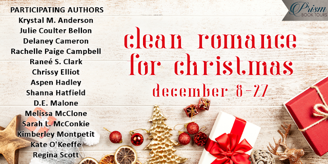 Clean Romance for Christmas and Giveaway: Because You Loved Me by Delaney Cameron