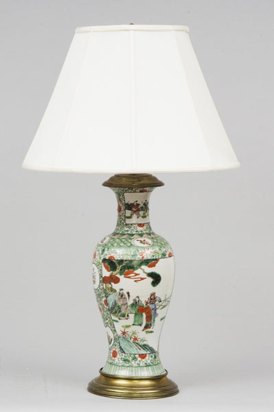 Wonderful Antique Porcelain Lamps