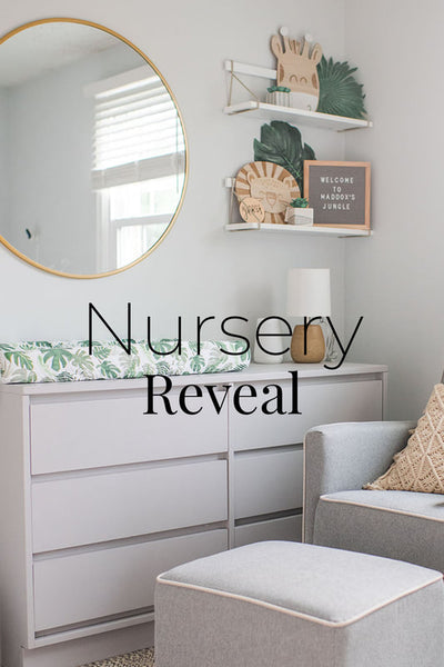 Baby Boy Safari Theme Nursery Reveal