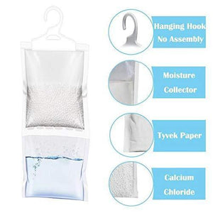 Featured zmfh 10 pack moisture absorber hanging bags no scent max odor eliminator 220g dehumidification bags for closets bathrooms laundry rooms pantries storage