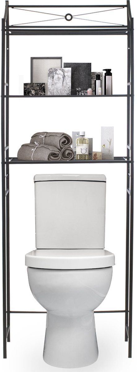 Best sorbus bathroom storage shelf over toilet space saver freestanding shelves for bath essentials planters books etc