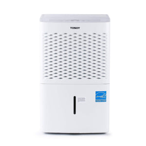 Featured tosot 30 pint dehumidifier for small rooms up to 1500 square feet energy star quiet portable with wheels and continuous drain hose outlet dehumidifiers for home basement bedroom bathroom