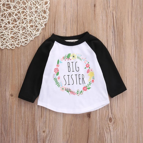 Big Sis Flower Detail top