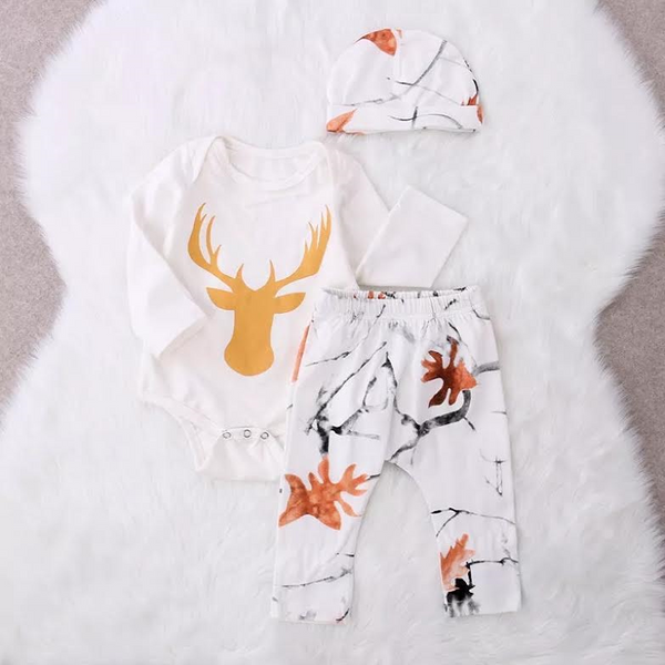 3 Piece Deer Set