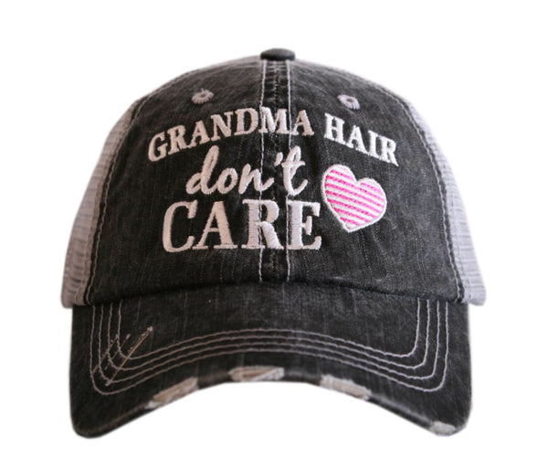 Grandma Hair Don't Care