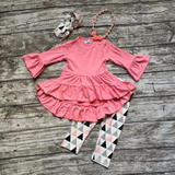 Ruffle Aztec Set Outfit