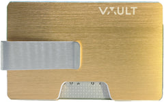The Noosa - RFID Wallet - Old Gold (Brushed)