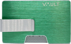The Noosa - RFID Wallet - Apple Green (Brushed)