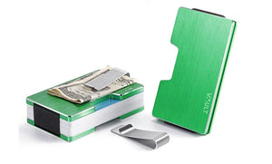 Apple Green Noosa Bi-fold RFID Wallet - Vault Design