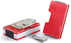 Candy Red Noosa Bi-fold RFID Wallet - Vault Design