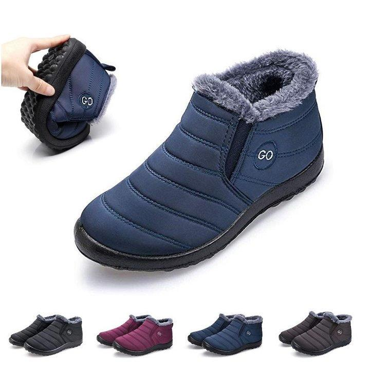 Women's Soft Sole Warm Ankle Boots