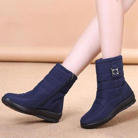 Women's Waterproof Zipper Boots ( 🔥 Last Day of SALE with 70% OFF 🔥 )