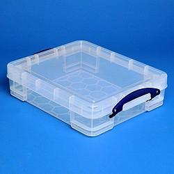11L (litre) Really Useful Box - Clear