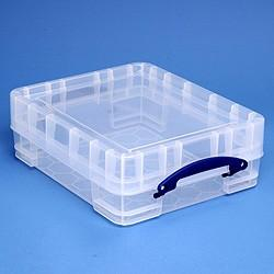 11L (litre) XL Really Useful Box - Clear - Storage 4 Crafts