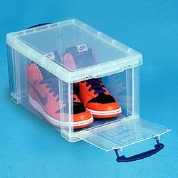 14L (litre) Really Useful Box - Clear - Storage 4 Crafts