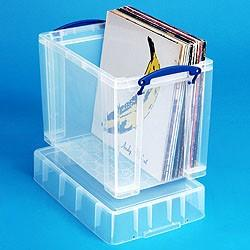 19L (litre) XL Really Useful Box - Clear