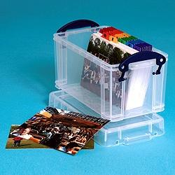 2.1L (litre) Really Useful Box - Clear - Storage 4 Crafts