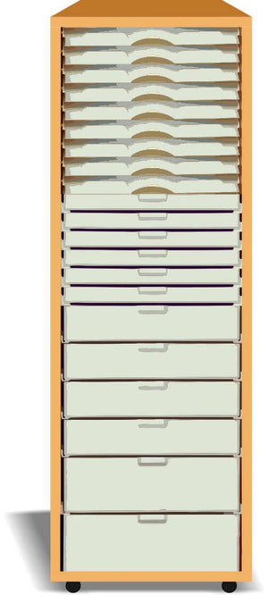 30 Slot Single Stacker - Storage 4 Crafts