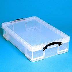 33L (litre) Really Useful Box - Clear