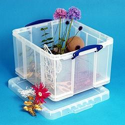 42 Litre Really Useful Box-Clear - Storage 4 Crafts