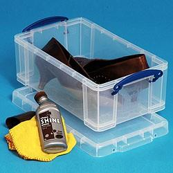 5L (litre) Really Useful Box - Clear - Storage 4 Crafts