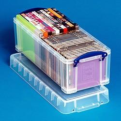 6.5L (litre) Really Useful Box - Clear - Storage 4 Crafts