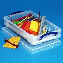 6L (litre) Really Useful Box - Clear - Storage 4 Crafts