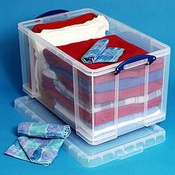 84 Litre Really Useful Box-Clear