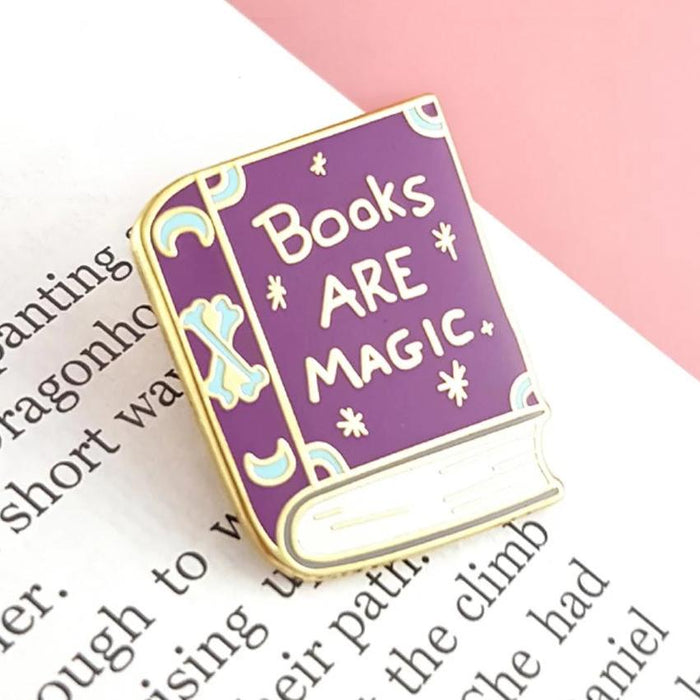 Books Are Magic Pin
