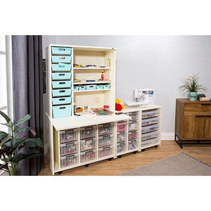 Allstore Storeaway Salcombe and Hutch - Storage 4 Crafts