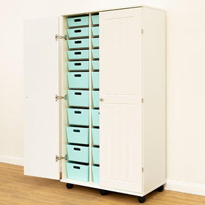 Craft Studio 160cm Triple Cupboard - Storage 4 Crafts
