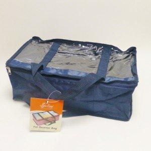 Fat Quarter Storage Bag -Navy - Storage 4 Crafts