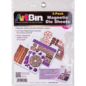 Magnetic Die Sheets -3 pack - Storage 4 Crafts