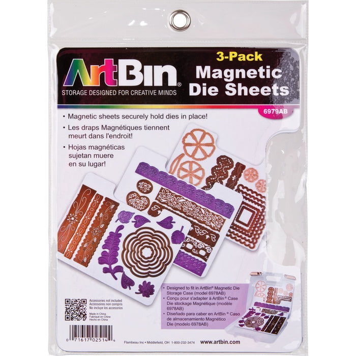 Magnetic Die Sheets -3 pack