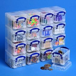 Really Useful Box 0.14L (litre) Organiser Pack - Storage 4 Crafts