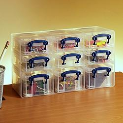 Really Useful Box 0.2 & 0.3L (litre) Organiser Pack - Storage 4 Crafts
