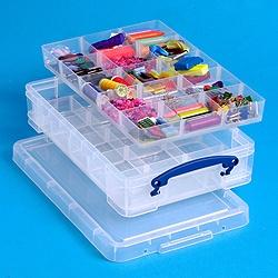 Really Useful Box 4L (litre) Divider Pack - Storage 4 Crafts