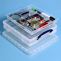 Really Useful Box 7L (litre) Divider Pack - Storage 4 Crafts