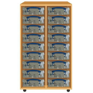 Really Useful Double Storage Unit (100cm) - Storage 4 Crafts