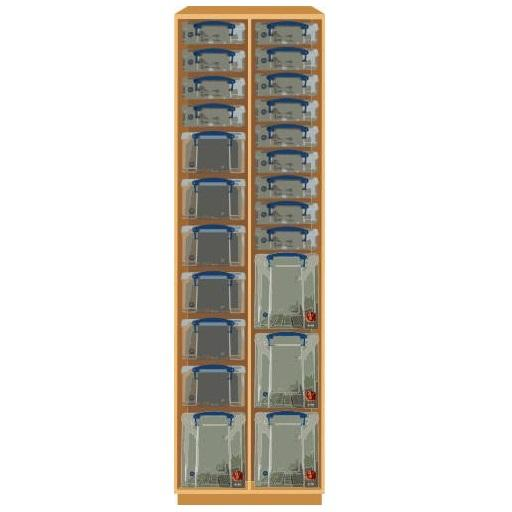 Really Useful Double Storage Unit (190cm)