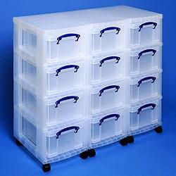 Storage Tower Triple 12x9L Box - Storage 4 Crafts