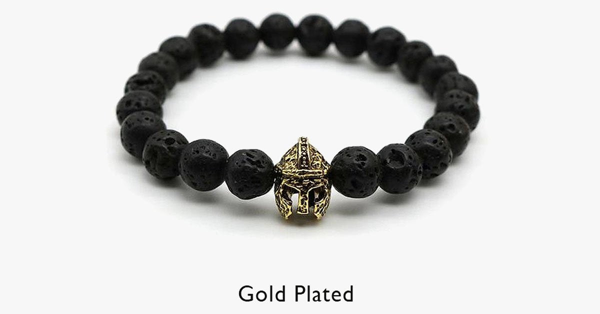 Gold-Plated Gladiator Bracelet