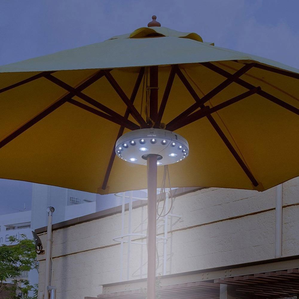 Camping Umbrella Pole Light