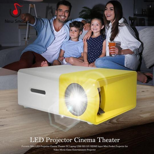 Portable Travel Projector