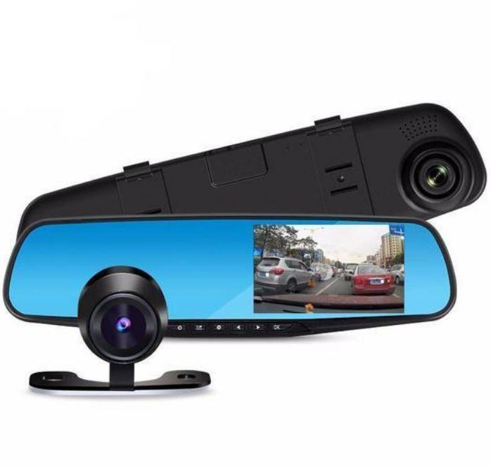 Dual Lens Dash Cam Vehicle Front Rear 1080P HD Vehicle Recording Dash Cam