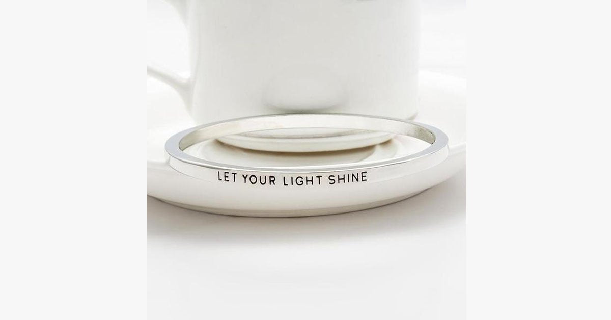Let Your Light Shine Bangle