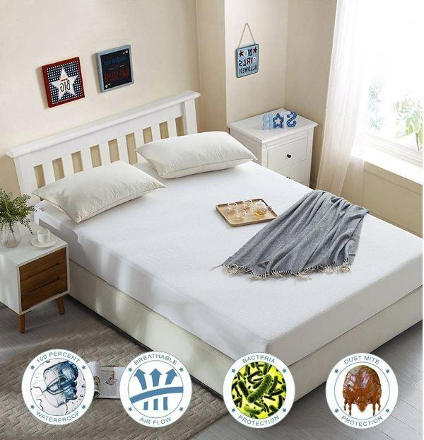 All Size Smooth Mattress Protector