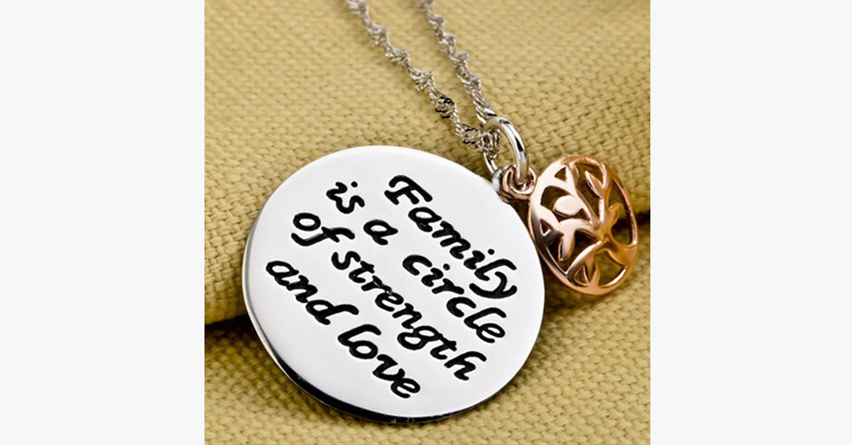 Loving Family Charm Pendant