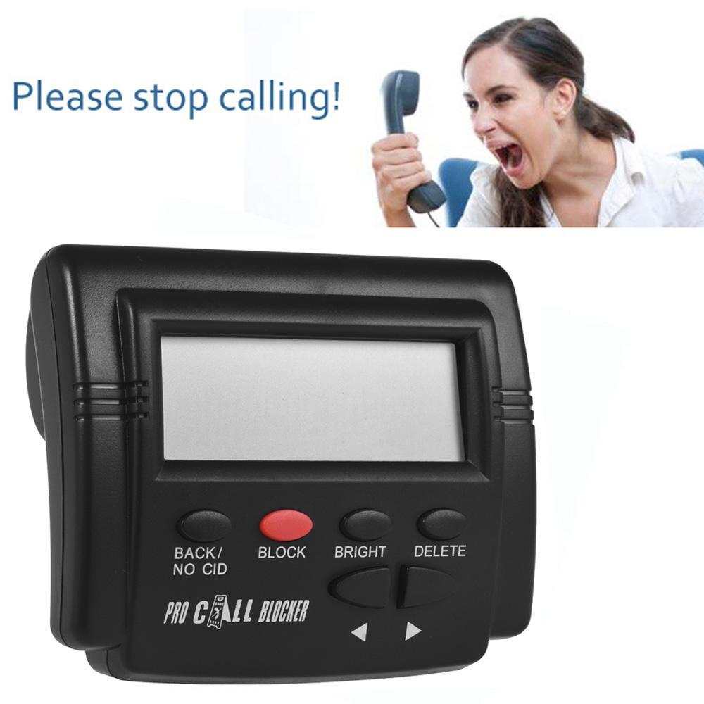Call Blocker for Landline TelePhones Block Spam Calls Compatible with FSK DTMF