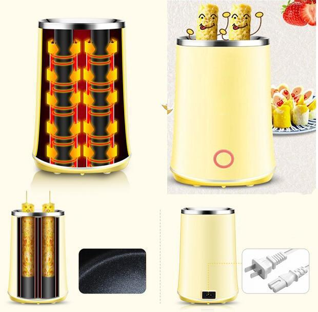 Electric Dual Egg Roll Maker